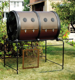 Twin composter
